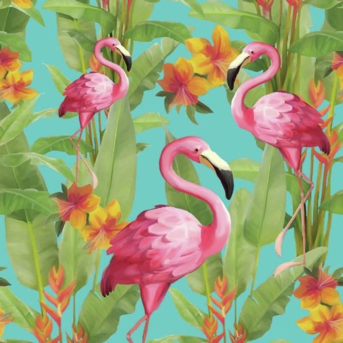 Bilde av Napkin 33 Flamingo'S