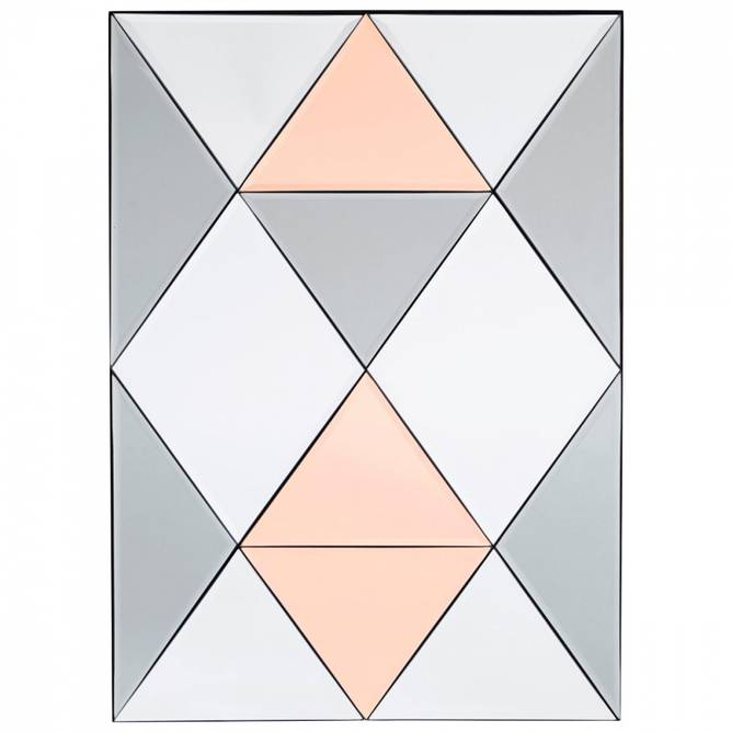 Bilde av Rhomb speil 50 x 70 cm