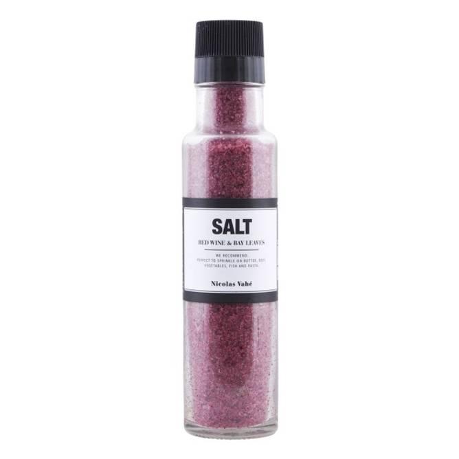 Bilde av Salt red wine & bay leaves