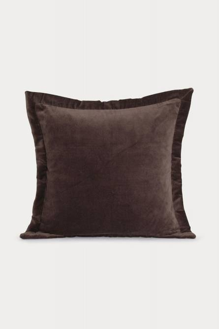 Bilde av Putetrekk mørk brun fløyel