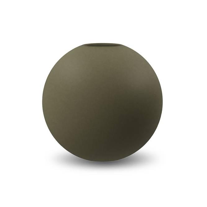 Bilde av Cooee Ball vase 20 cm Olive