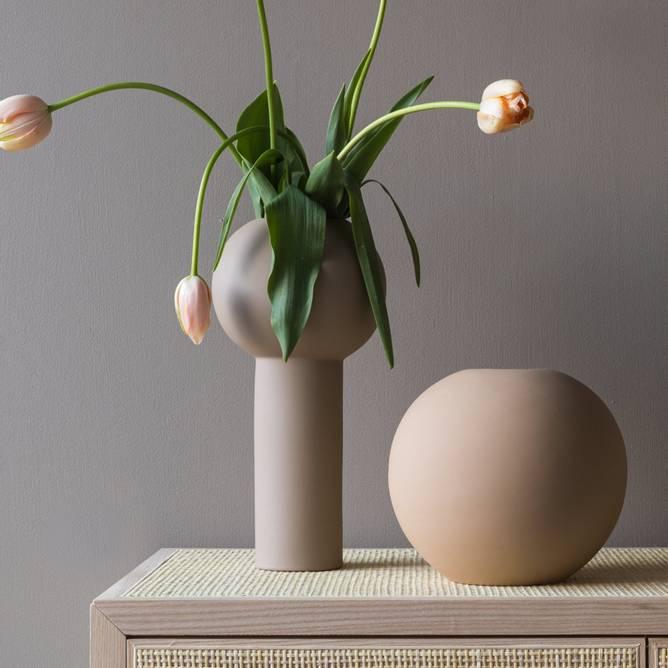 Bilde av Cooee Ball vase 20 cm Paenut