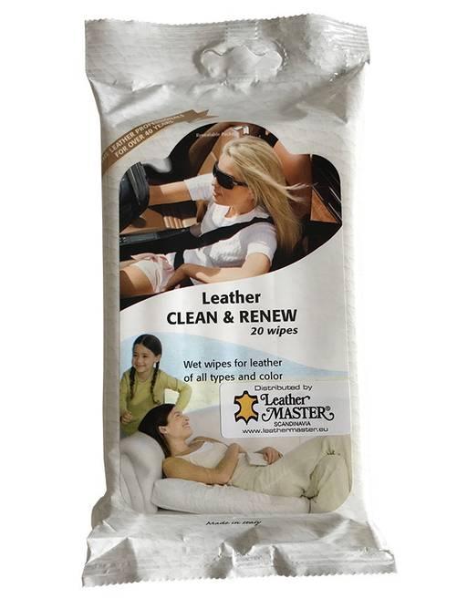 Bilde av Leather Clean & Renew wipes