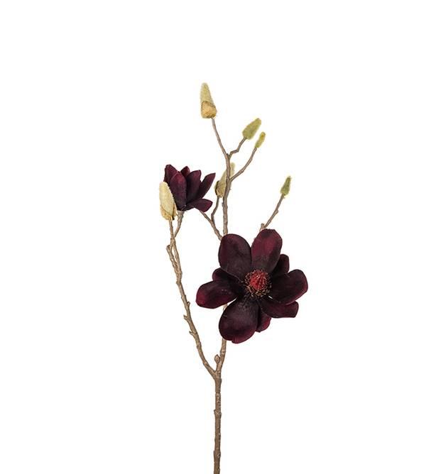 Bilde av Magnolia 70 cm Mørk rød