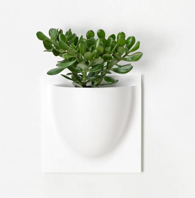 Bilde av Vertiplants veggpotte hvit