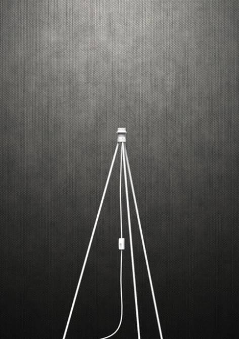 Bilde av Vita Tripod base gulv - hvit