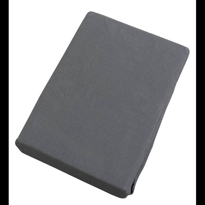 Bilde av Jerseylaken mørke grå 90*200