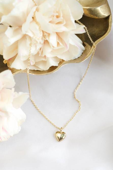 Bilde av Vintage heart necklace petite