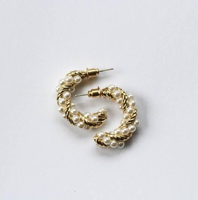 Bilde av JT Hoops tvinnet med perler