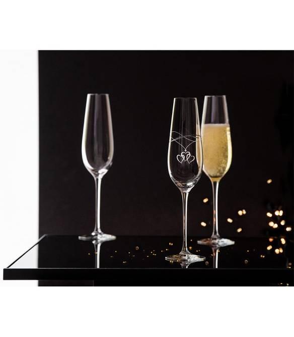 Bilde av Amore Champagneglass glatt