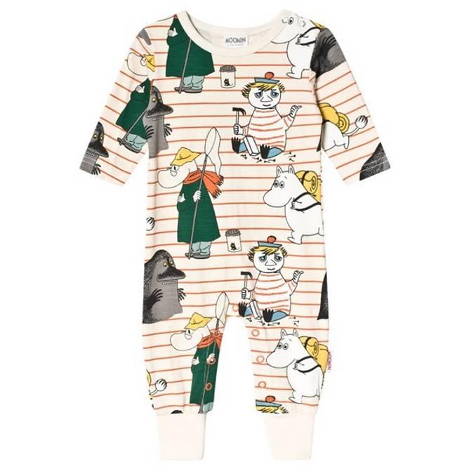 Bilde av Mummi pyjamas Orange str 62