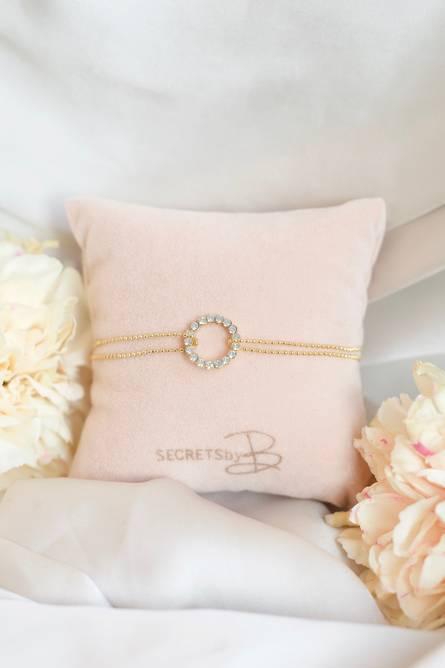 Bilde av Selma bracelet - white