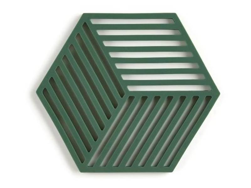 Bilde av Zone Hexagon Bordskåner 16 x 14 cm Grass