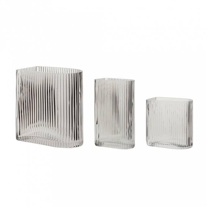Bilde av Vaser, 3stk, glass
