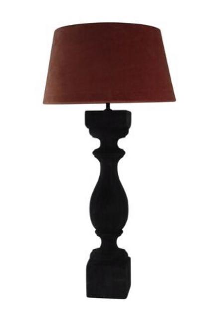 Bilde av Lampe stor tre