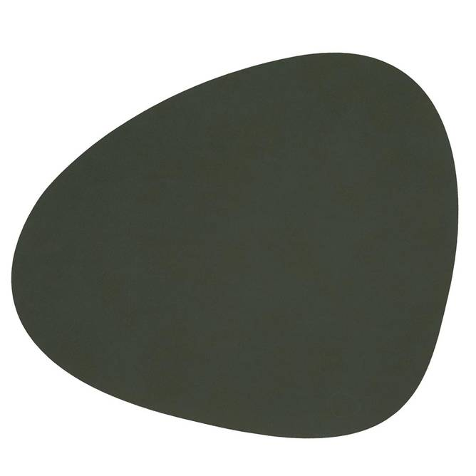 Bilde av Table mat curve Dark Green