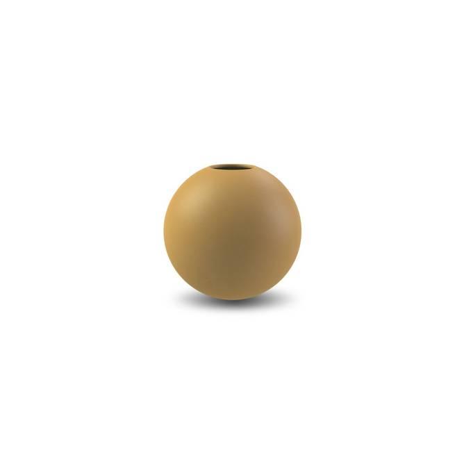Bilde av Cooee Ball vase 8cm Oker
