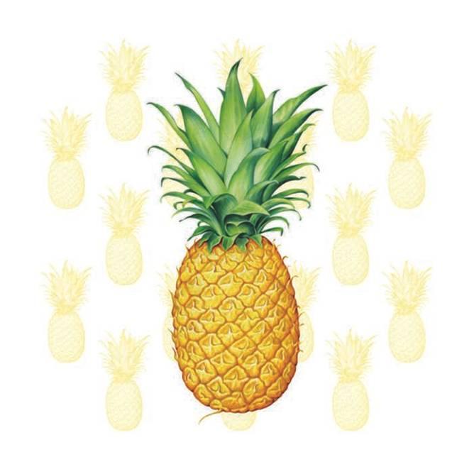Bilde av Napkin Lunsj Tropical Fruit
