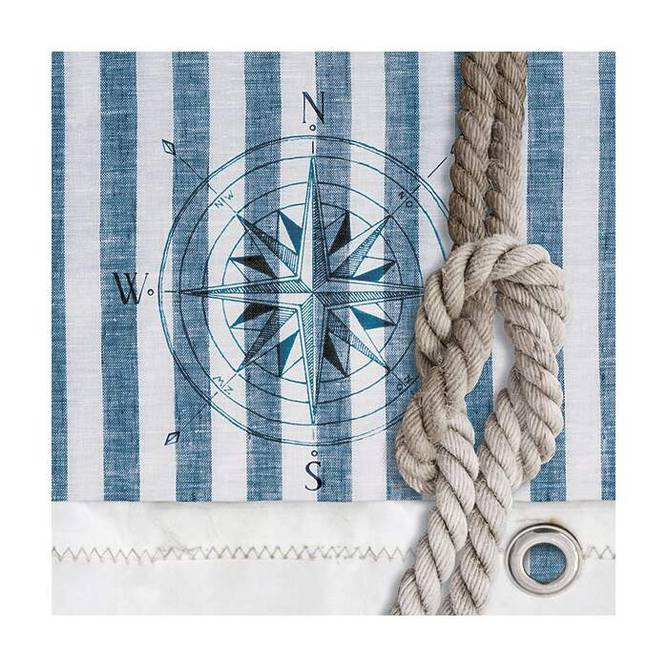 Bilde av Napkin Lunsj Compass And Rope