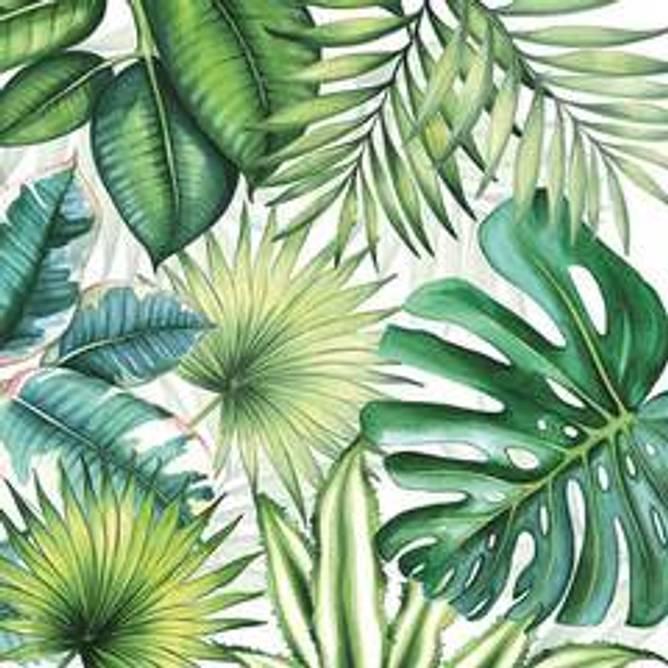 Bilde av Napkin 25 Tropical Leaves