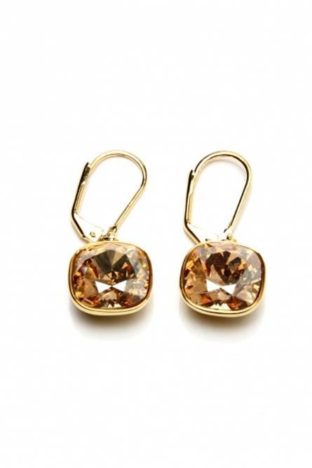 Bilde av Champagne swarovski earring