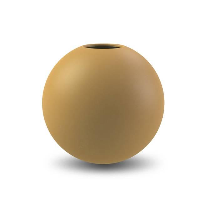 Bilde av Cooee Ball Vase 20cm Oker
