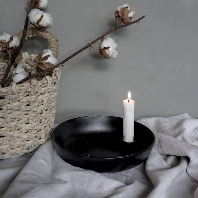Bilde av Lidatorp bordlysestake blank