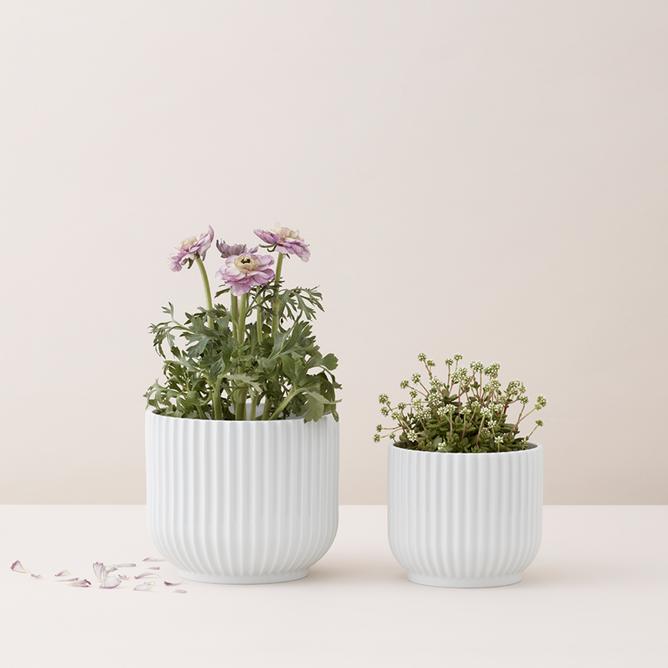 Bilde av Blomsterpotte Hvit, Ø 14,5 cm