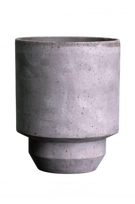 Bilde av Hoff potte 8 cm Grå