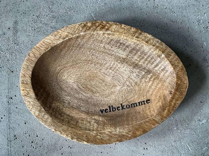 Bilde av Tallerken tre oval 20cm