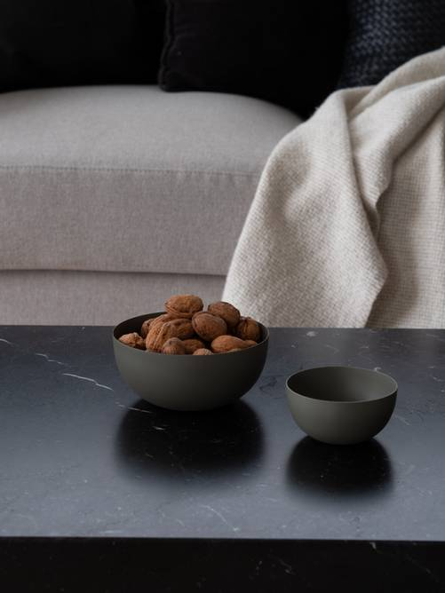 Bilde av Felix skål 10*10*5 cm Oliven