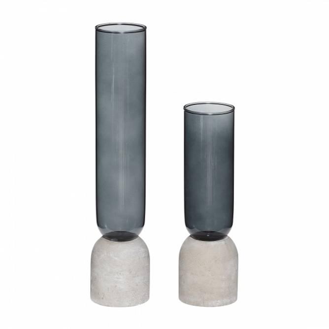 Bilde av Hübsch - Vaser i glass/