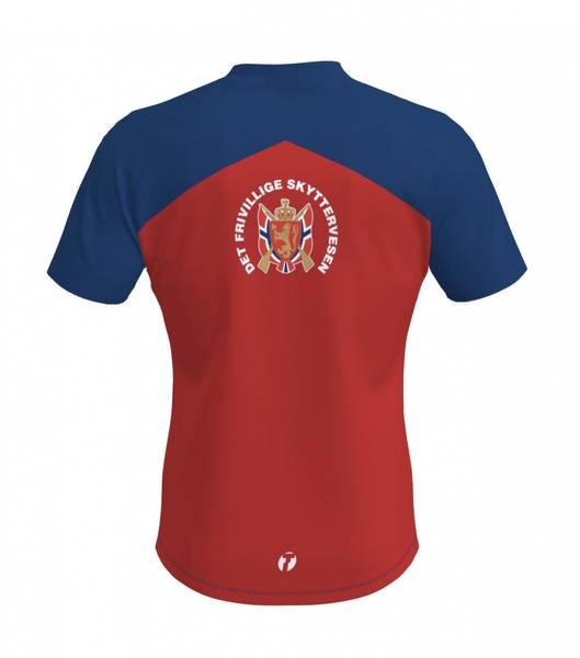 Hjemme-LS T-skjorte Dame med gratis deltakermerke