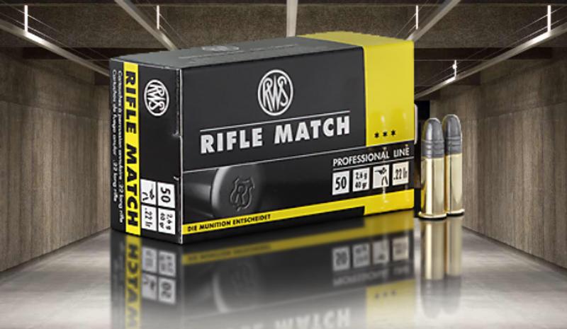 RWS Rifle Match .22lr