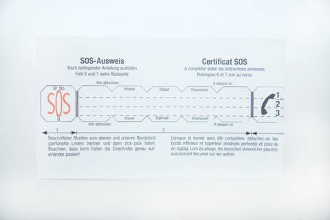 Bilde av Ekstra strimmel til SOS-kapsel