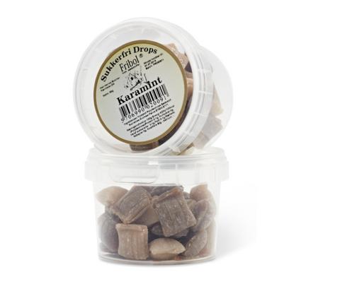 Bilde av Fribol sukkerfri drops karamint