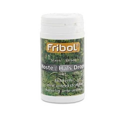 Bilde av Fribol sukkerfri Hoste/Hals sterk boks