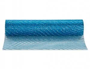 Bilde av Festremse blå glitter stripe