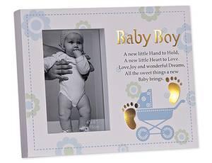 Bilde av Babyramme gutt 10x15