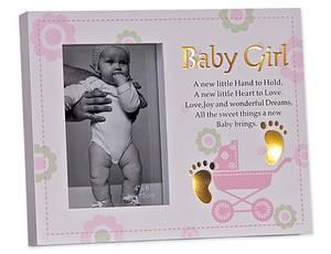 Bilde av Babyramme jente 10x15