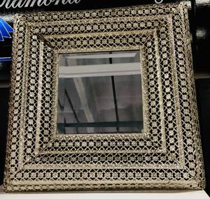Bilde av Speil m/metallramme 38x38