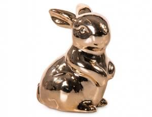 Bilde av Kanin gull H6 cm