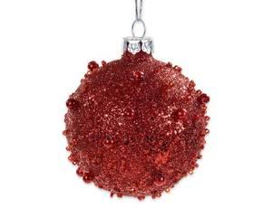 Bilde av Juletrekule rød 6cm
