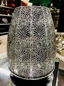 Bilde av Lyslykt sølv H20,5 cm