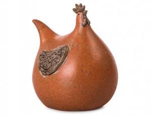 Bilde av Høne orange H12 cm