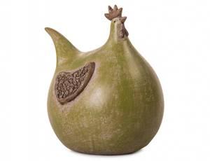 Bilde av Høne grønn H15 cm
