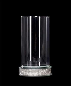 Bilde av Lyslykt m/små krystaller 18cm