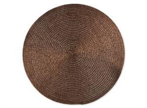 Bilde av Kuvertbrikke rund bryn 38 cm