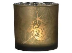 Bilde av Lysglass grønn/sølv 15x15