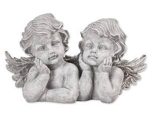 Bilde av Alba engler grå/sølv H18,5cm